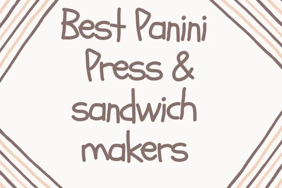 panini press reviews