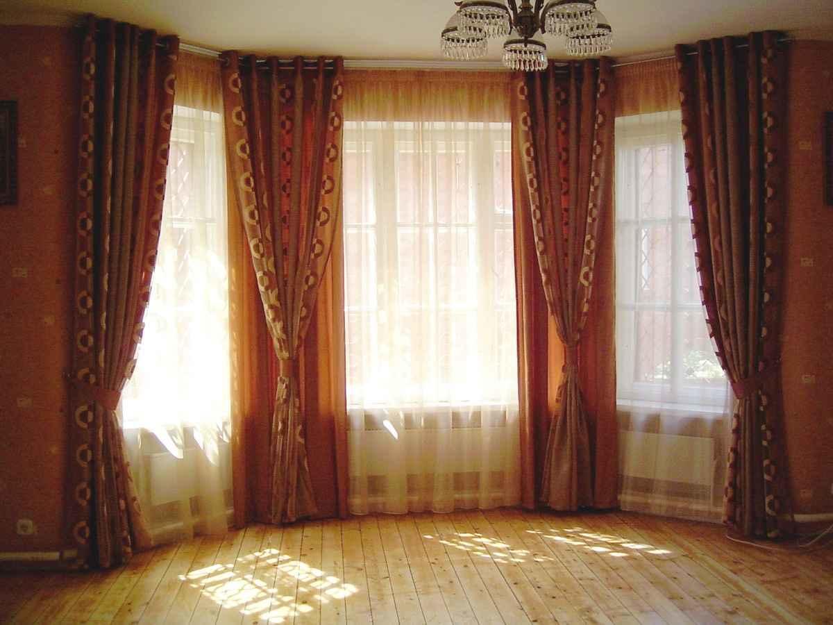 сервантеса является шторы на эркерные окна в гостиной фото журналах были