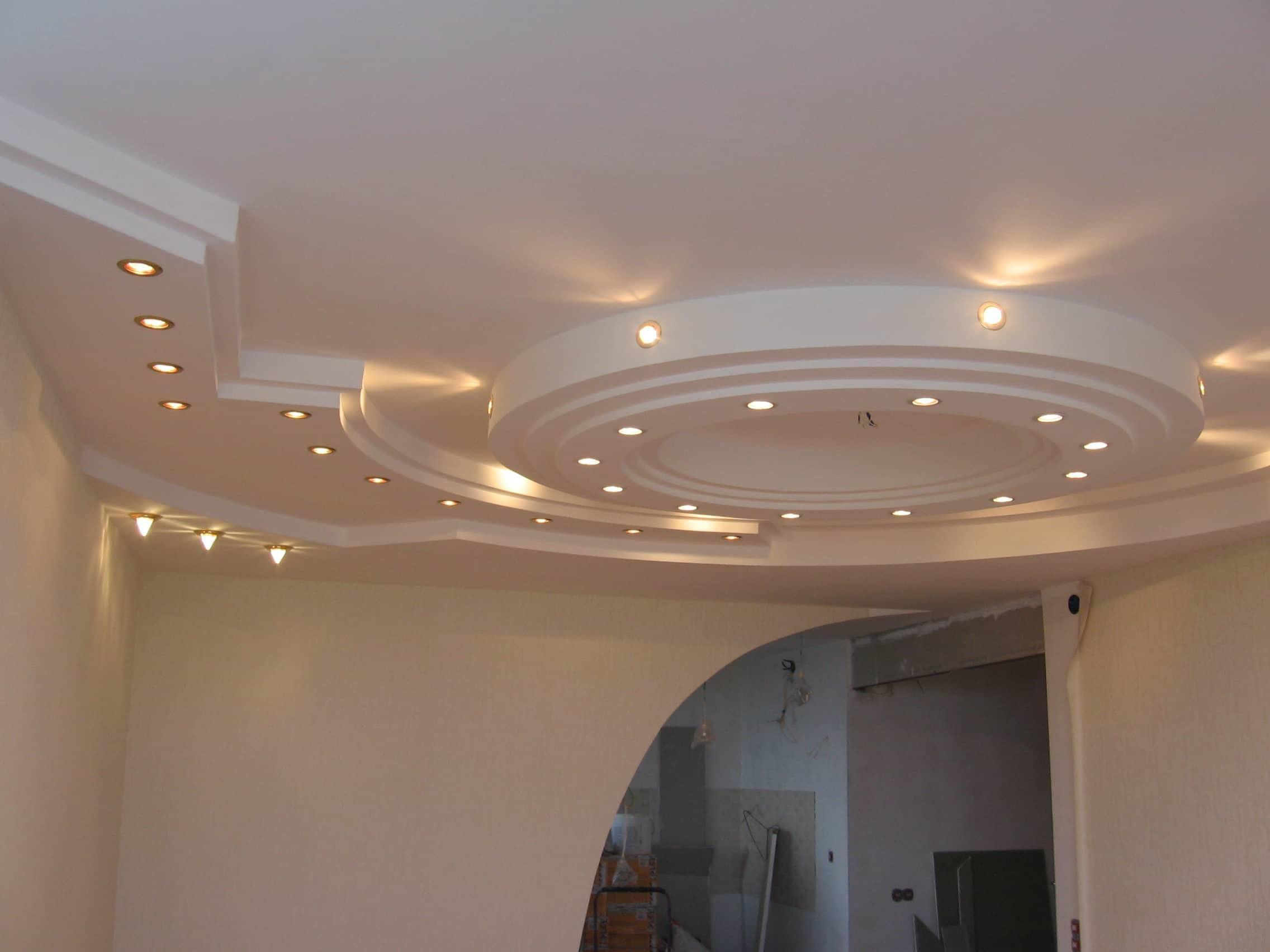 многоуровневые потолки из гипсокартона фотогалерея как оказалось