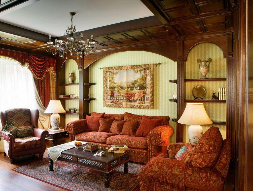 Design della camera da letto in stile inglese: dall ...