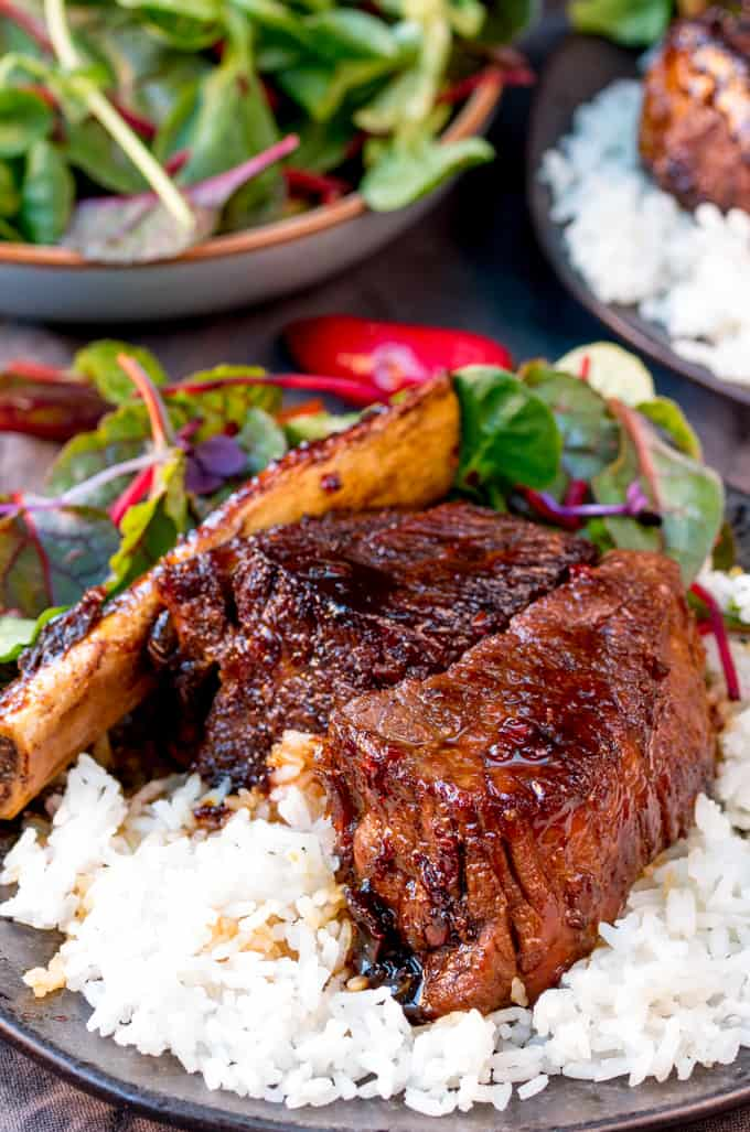 These sweet and sticky slow-cooked short ribs use my fail-proof method for fall-apart meat that's packed full of flavour!