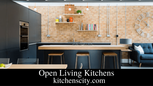 Open Living Kitchens
