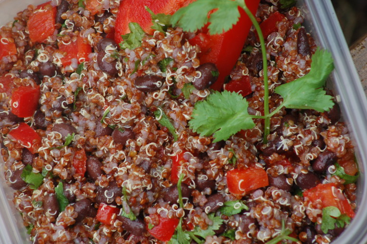 Cold Salad Southwestern Quinoa