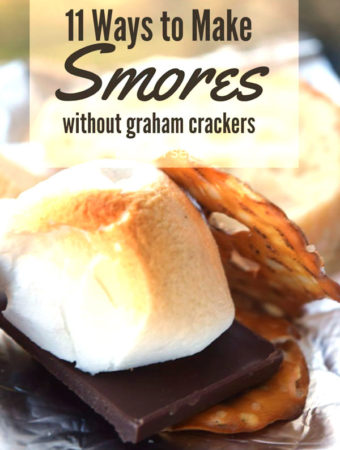 S'mores night and you've run out of graham crackers? No problem. There are at least 11 other foods you can use instead of graham crackers.