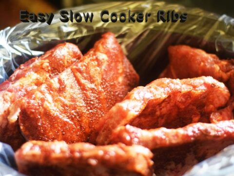 Easy Slow Cooker Ribs