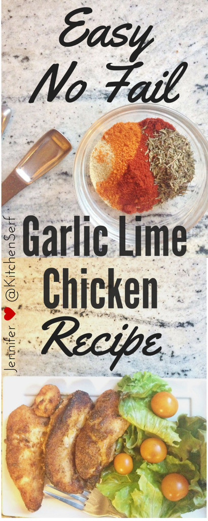 Garlic Lime Chicken is a recipe I've been making regularly for over a decade. This spicy, flavorful chicken breast will make you feel like you're eating dinner in a four-star bistro instead of your dusty dining room littered with toys.