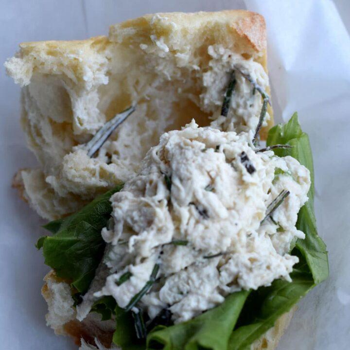 Rosemary Chicken Sandwich Recipe