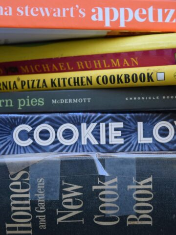 My six favorite cookbooks are a mix of old and new, sweet and savory.