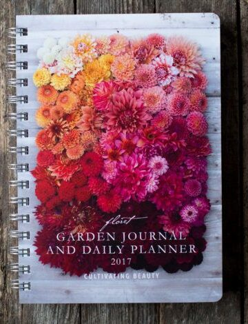 Pretty but not packed with information is how I would describe the Floret Garden Journal and Daily Planner. I would have liked a few more tips and tricks about growing flowers.