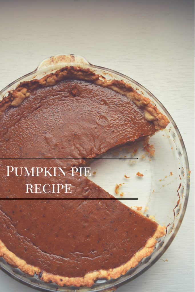 Hi, my pumpkin pie recipe is one of the best you'll make and you only need one can of pumpkin puree.