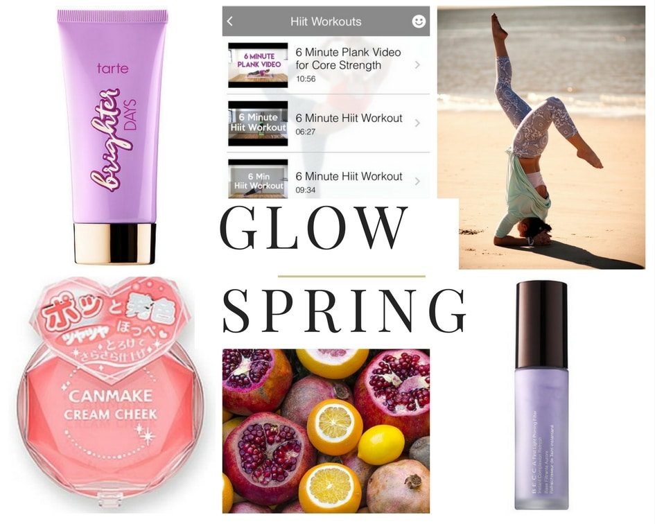 Spring glow: five things to help you get one no matter how fiercely the winds are howling outside your window.