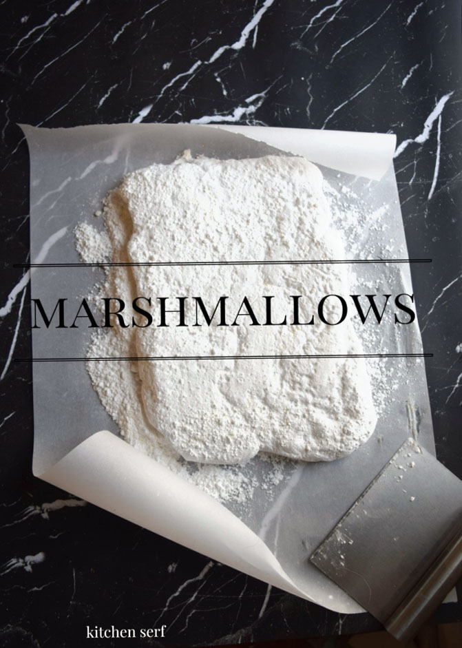 Marshmallows made at home are chewy, light, fluffy and customizable. Make a batch of vanilla or add a different flavor like peppermint, chocolate or raspberry. Coat them in chocolate, dip them in sprinkles or crushed gingersnaps. Visit kitchenserf.com for more recipes.