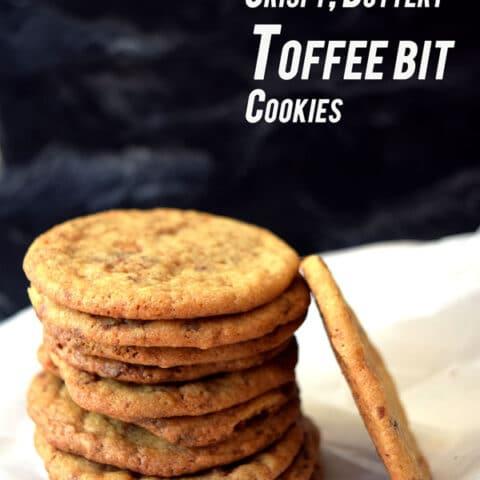 Toffeebit Cookies Recipe