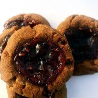 Cocoa Raspberry Thumbprints