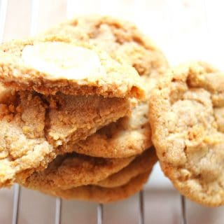 Graham Cracker White Chocolate Cookies Recipe