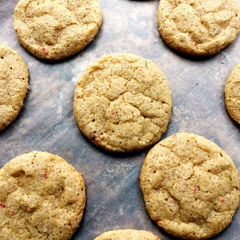Grapefruit Cookies