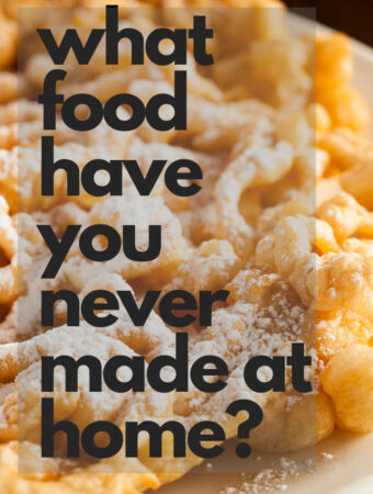 What food have you never made at home but would like to? Click over to see my choice. #foodgoals #food