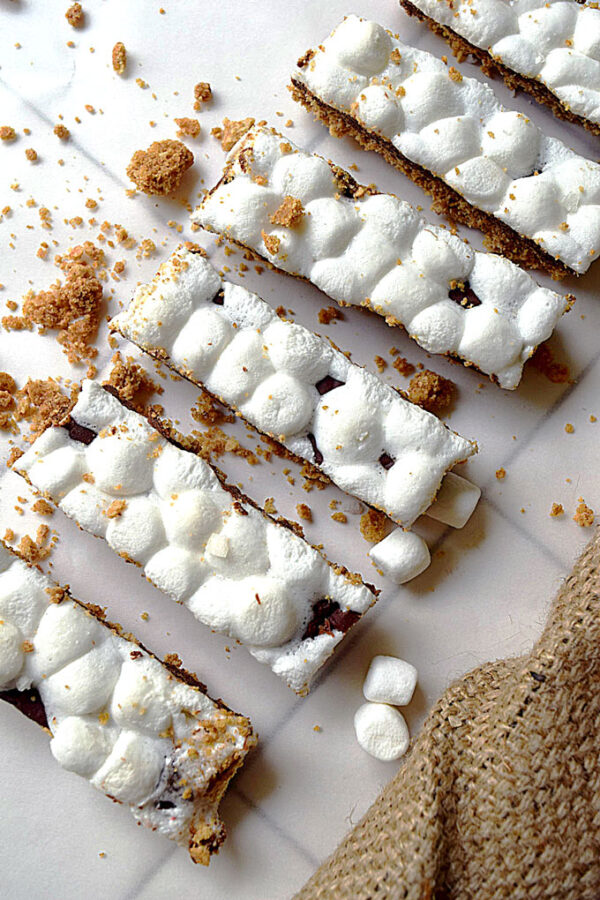 Best Ever Starbucks Copycat S'mores Bars