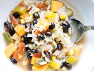 Southwestern Soup (Vegetarian!)
