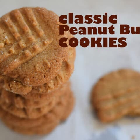 Classic Peanut Butter Cookie Recipe