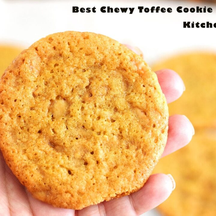 Best Chewy Toffee Cookie Recipe