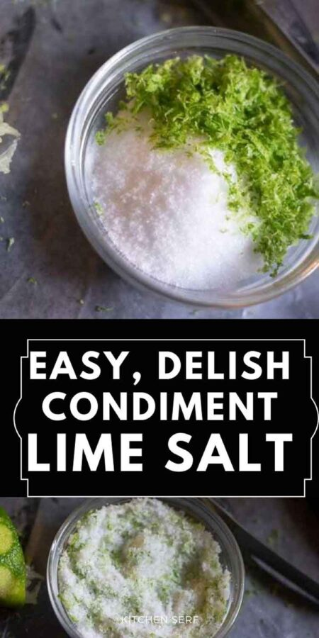 Lime Salt (Elevate Everything You Cook and Pour)