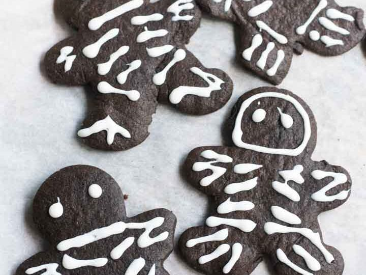 Black Cocoa Cut-Out Cookies