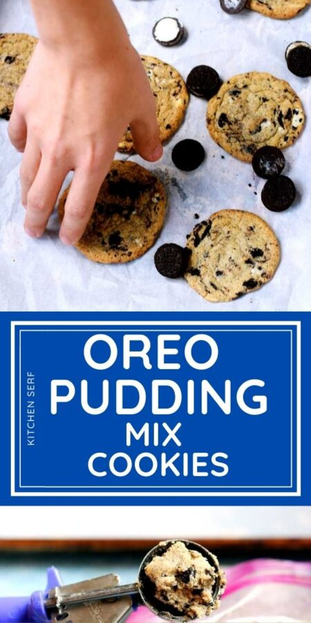 Oreo Pudding Cookies (The One You Won't Stop Eating)