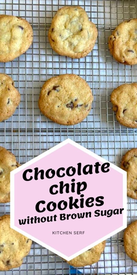 chocolate chip cookies laying on a wire rack