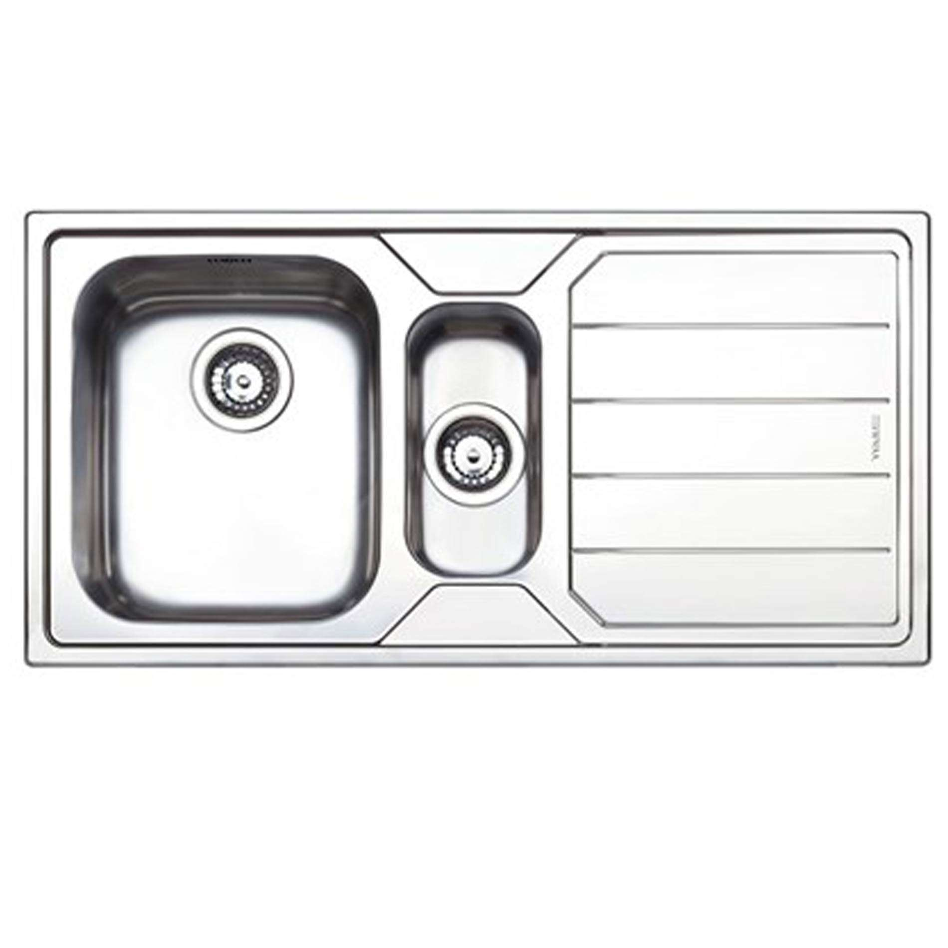 Clearwater Linear 1 5 Bowl Stainless Steel Sink