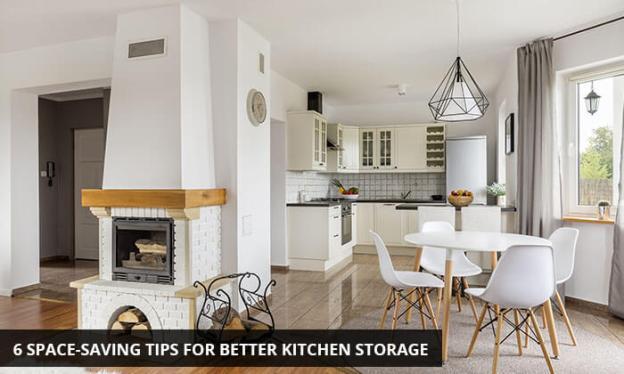 6 space-saving tips for better kitchen storage | kitchen solvers