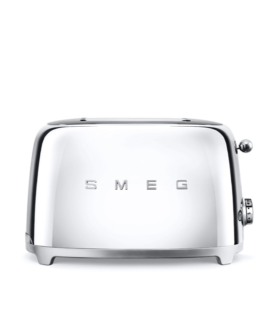 Smeg - Toaster - 2 slice - Chrome 2