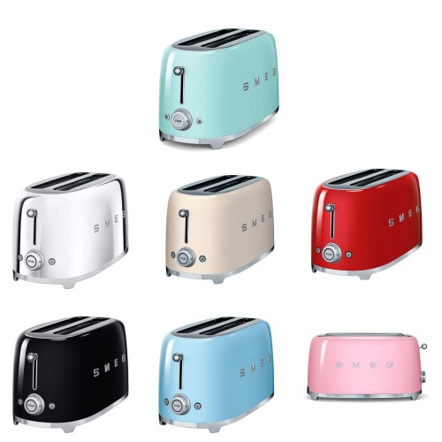 Smeg Toaster 4 slice mix