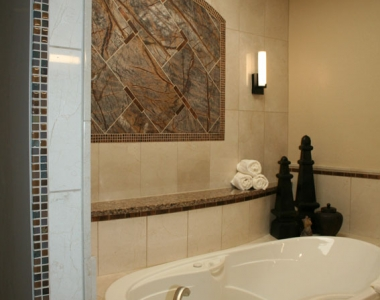 Natural Stone Spa Bathroom