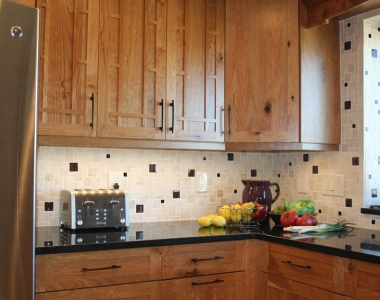 Shaker Rustic Cherry Kitchen