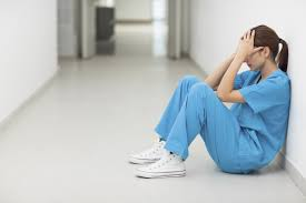 tired nurse