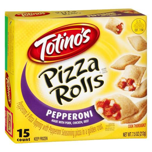 Pizza Rolls box-New Year's Eve snacks