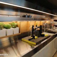 ARCLINEA kitchens with two presentations @ Milano 2014