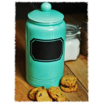 Turquoise Cookie Jar