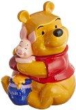 Westland Giftware Ceramic Cookie Jar, Winnie The Pooh Hugs Piglet, Multicolor
