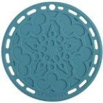Le Creuset Silicone 8″ Round French Trivet, Caribbean