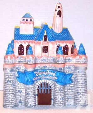 Disney Sleeping Beauty Castle Cookie Jar