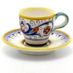 RICCO DERUTA: Classic Espresso Cup and Saucer [#039-RIC]