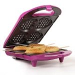 Holstein Housewares HF-09031M Heart Waffle Maker – Magenta
