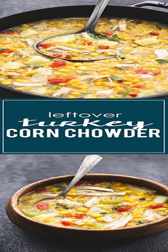 Leftover Turkey Corn Chowder
