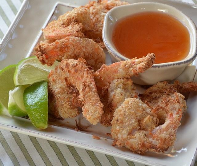 Coconut Air Fried Shrimp
