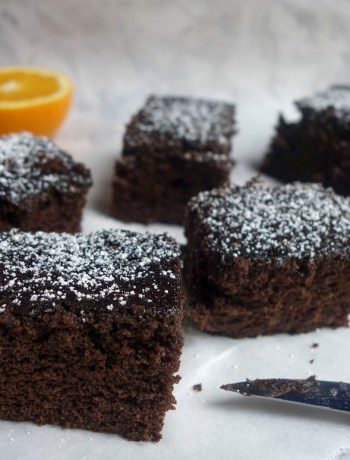 Chocolate Cardamom cake