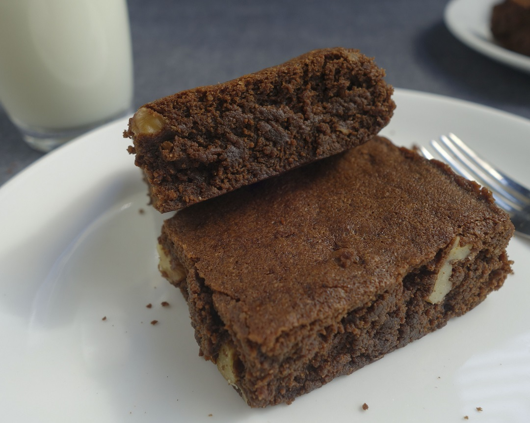 Brownies with a blend of coffee and chocolate