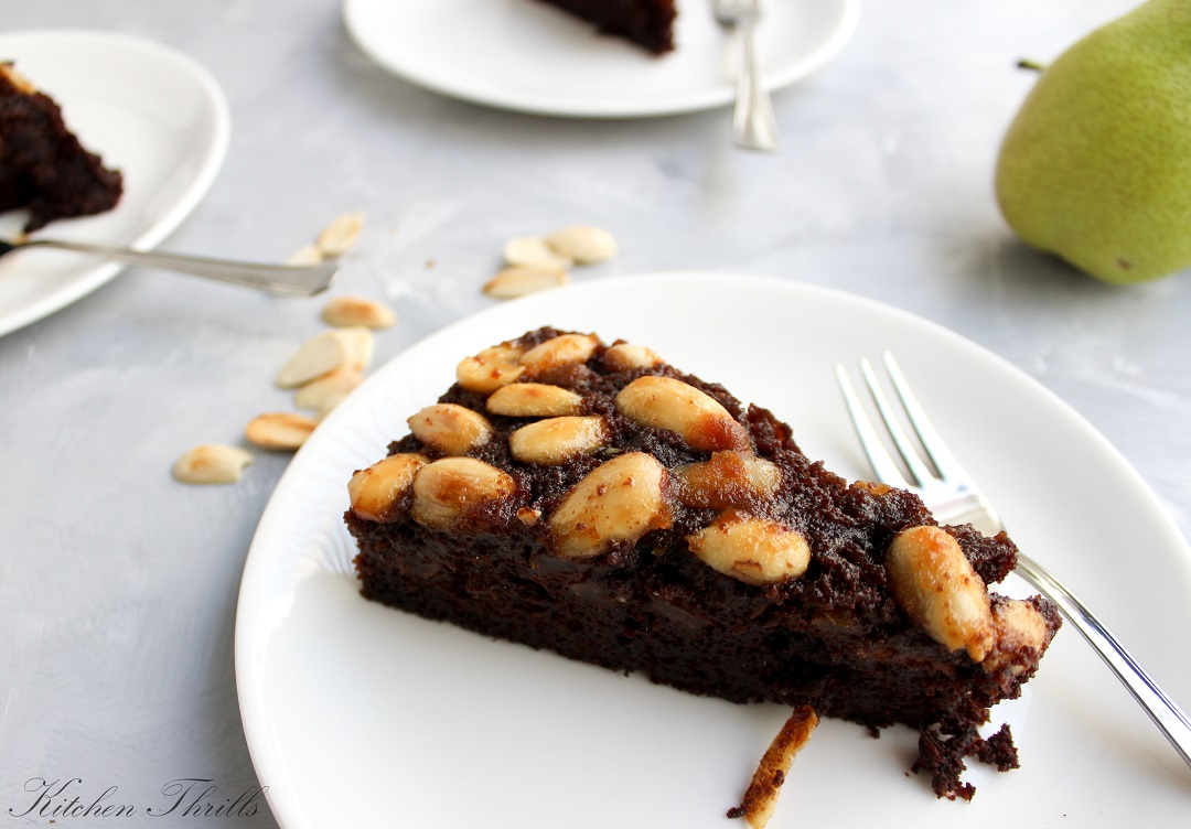 A simple and easy special occasion chocolate cake with no layers, no fillings and no intricate decoration techniques.