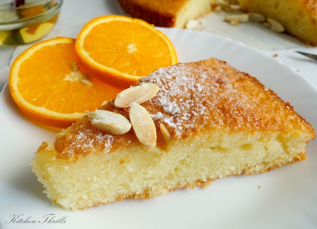 The best orange flavoured Indian dessert recipe. Perfect quick snack with tea or coffee.